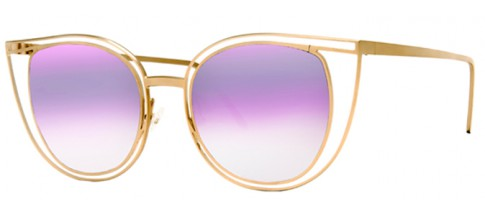 Thierry Lasry Glasses Eventually Matte Gold