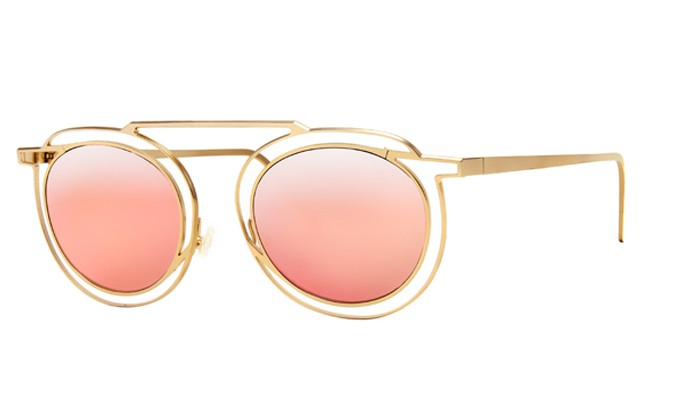 Thierry Lasry Glasses Potentially Gold