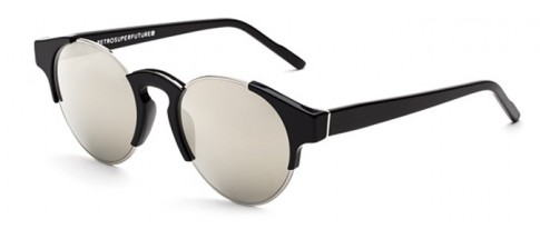 Retrosuperfuture Glasses Arca Black Ivory