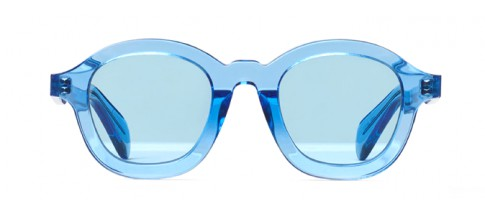 Céline Sunglasses Round Blue