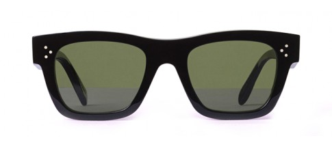 Céline Sunglasses Rectangular Black