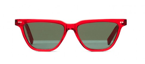 Céline Sunglasses Rectangular Red