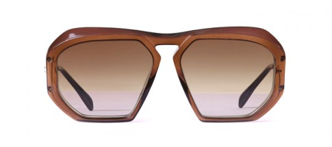 Céline Sunglasses Square Brown